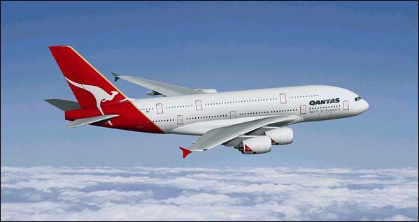 オーストラリアのカンタス航空 :...